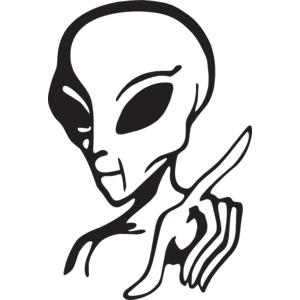 Alien Logo Vector PNG Transparent Alien Logo Vector.PNG.