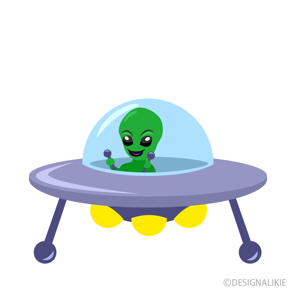 Free Alien and UFO Clipart Image|Illustoon.