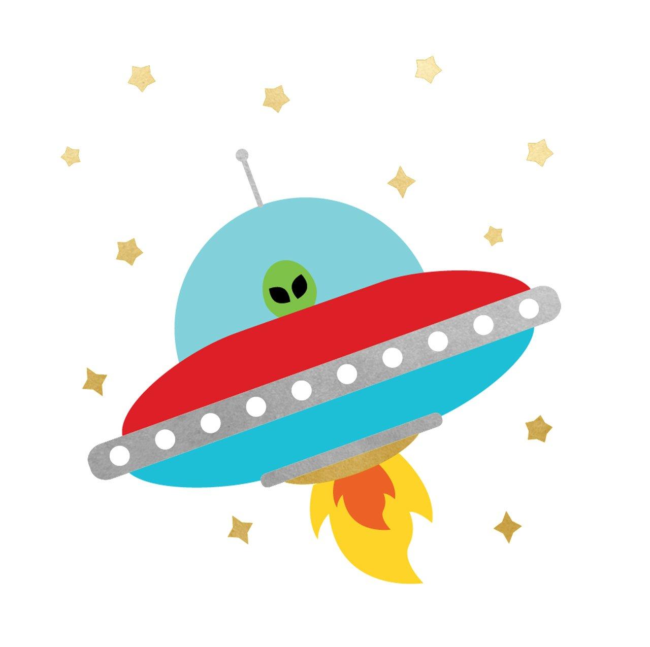 Buy SPACE EXPLORER ALIEN SPACESHIP party tats set of 25.