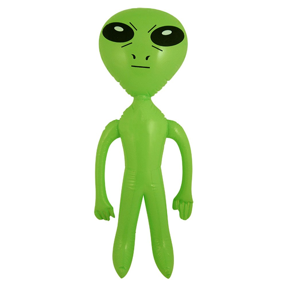 HENBRANDT Inflatable Blow Up Green 64 cm Alien Space Ship Party Accessory  (Green).
