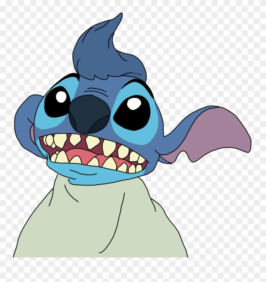 Stitch Liloandstitch Disney Cartoon Blue Alien Monster.