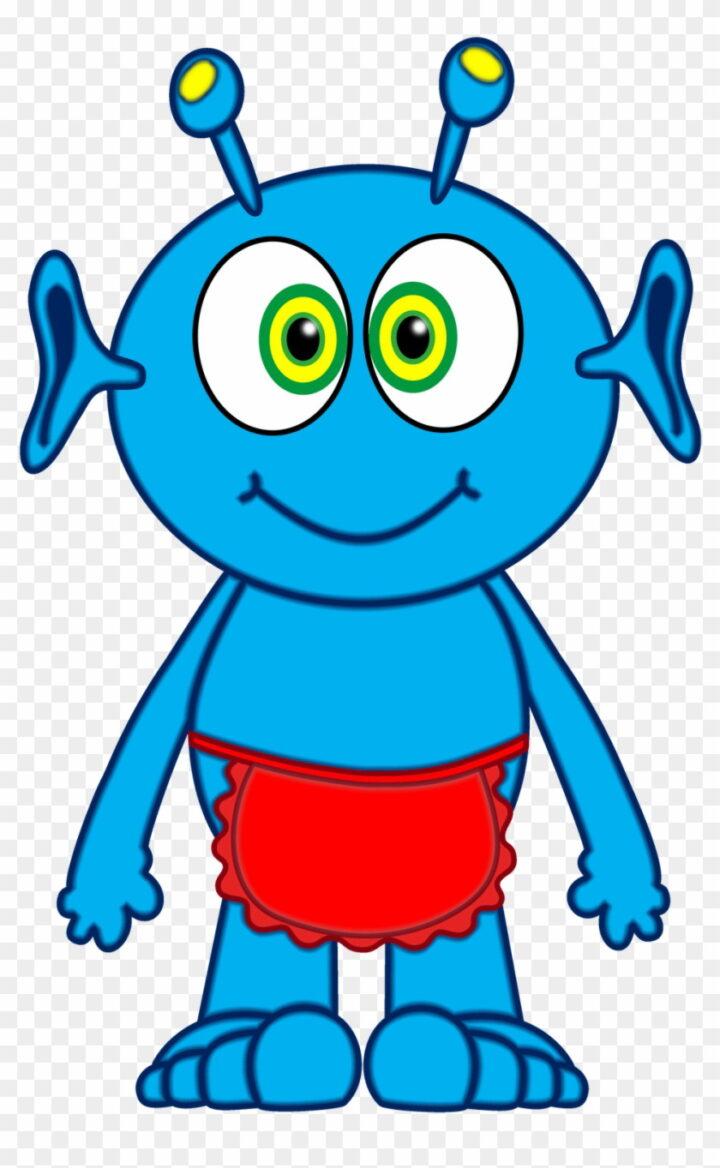 Mars Clipart Teacher Blue Alien Clipart Image Provided.