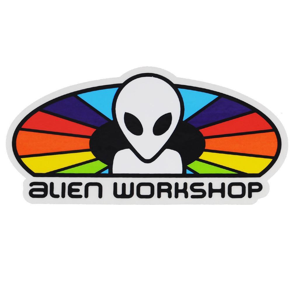 Alien Workshop Spectrum Sticker.