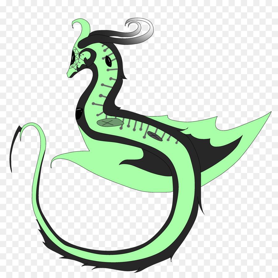 Clip art Green Cartoon Plants Legendary creature.