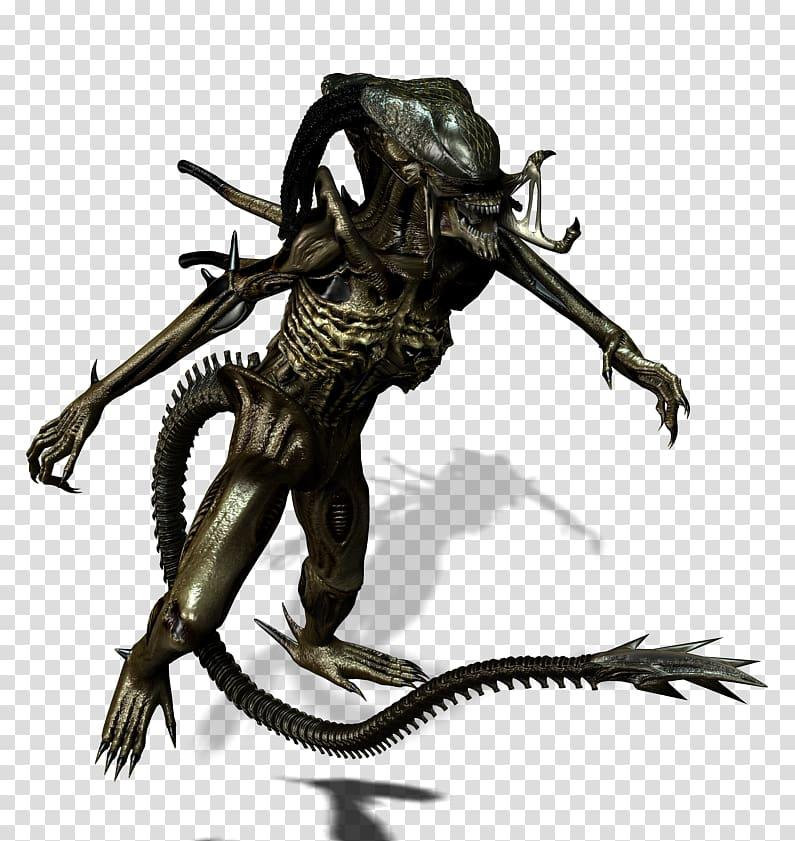 Predalien Predator Animated film , Alien transparent.