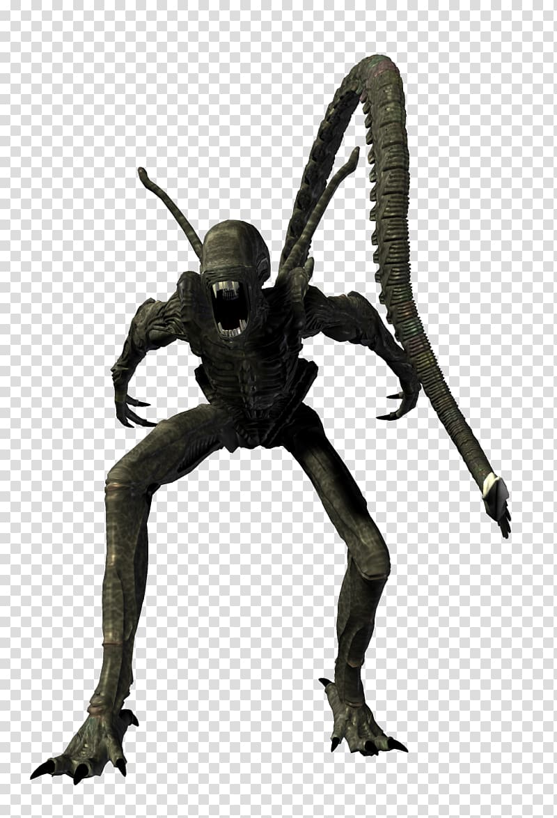 Alien Predator, Alien xenomorph transparent background PNG.