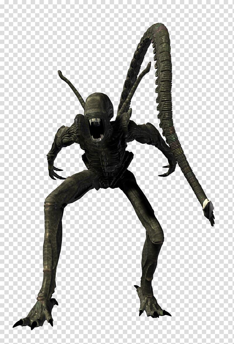 Alien Predator, Alien xenomorph transparent background PNG.