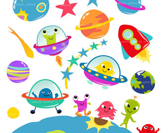 Alien planet clipart 4 » Clipart Station.