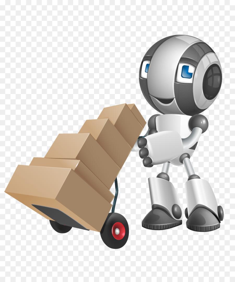 Robot Vector graphics Computer Software Cartoon Image.