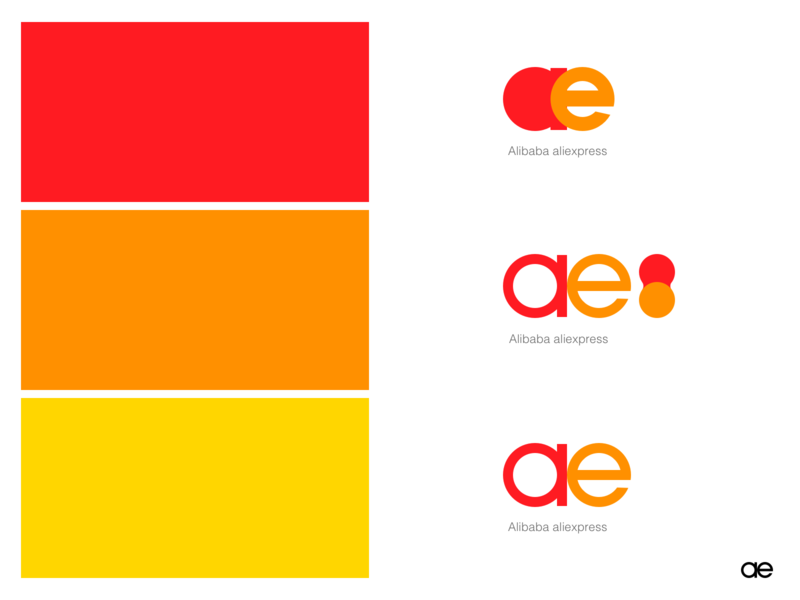Logo Design for Aliexpress by Douglas Wang on Dribbble.