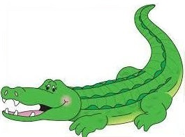 Free alligator clipart holiday.