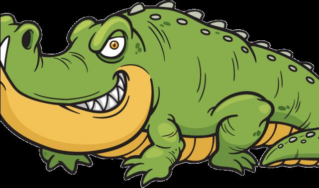 Alligator Clipart Saltwater Crocodile.