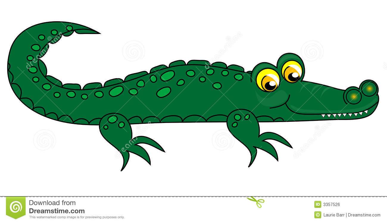 333 Gator free clipart.
