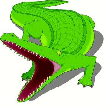 Crocodile Mouth Clipart (33+).