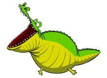 Crocodile Open Mouth Stock Illustrations.