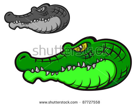 Alligator Head Stock Images, Royalty.