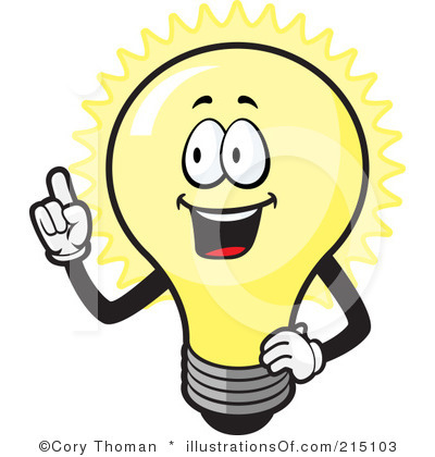 Free Clipart Of A Light Bulb.