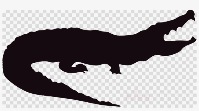 Alligator Silhouette Clipart Alligators Crocodile Clip.