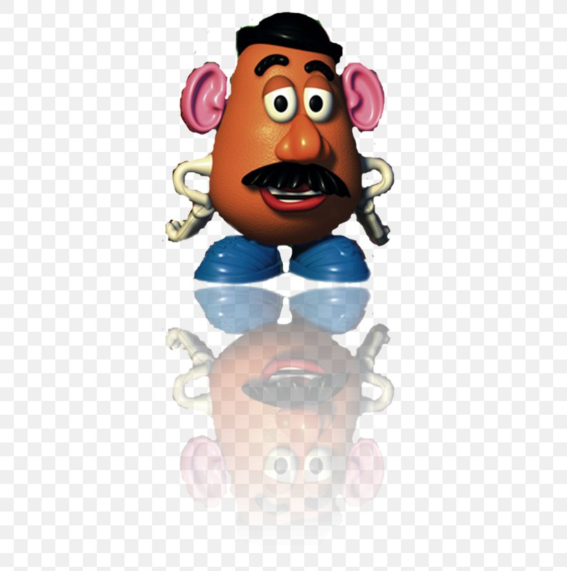 Nose Mr. Potato Head Look.