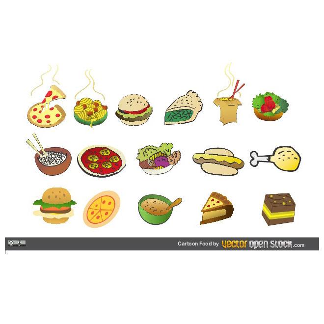 Clip art alimenti gratis.