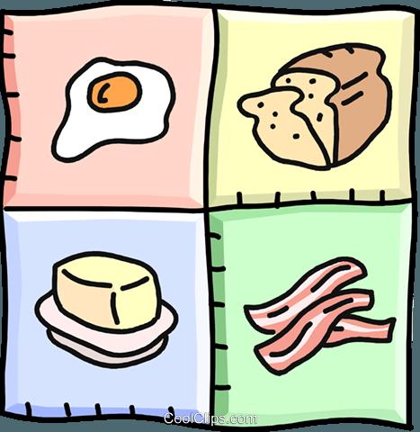 disegni prodotti alimentari, prodotti per la colazione immagini.