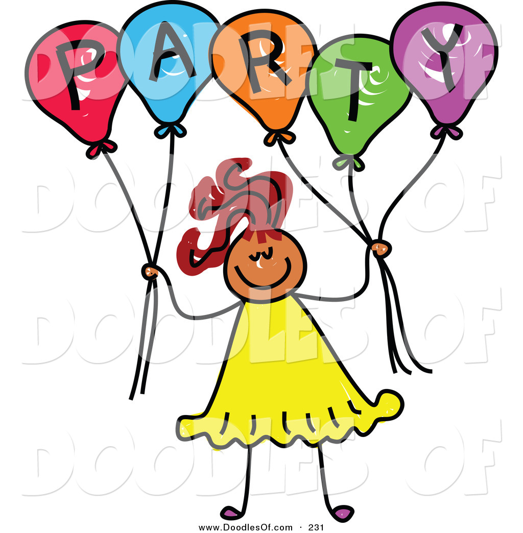 Partying Clipart.