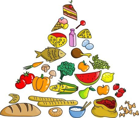 Food Pyramid Clipart Picture Free Download.