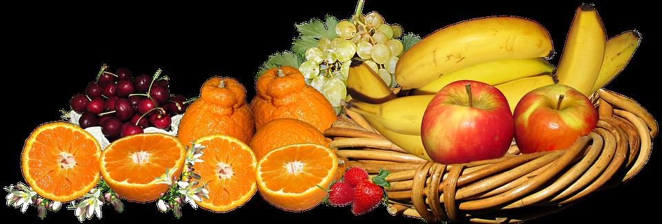 Frutas Cesta Los Alimentos.