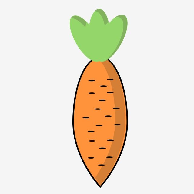 Carrot Design Clipart Vector Png Element, Carottec, Carrot.
