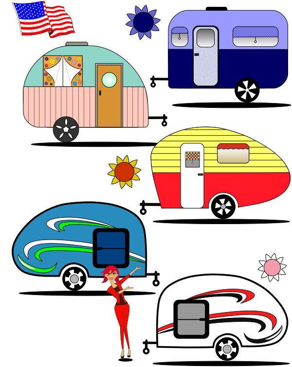 Aliner camper clipart clipart images gallery for free.