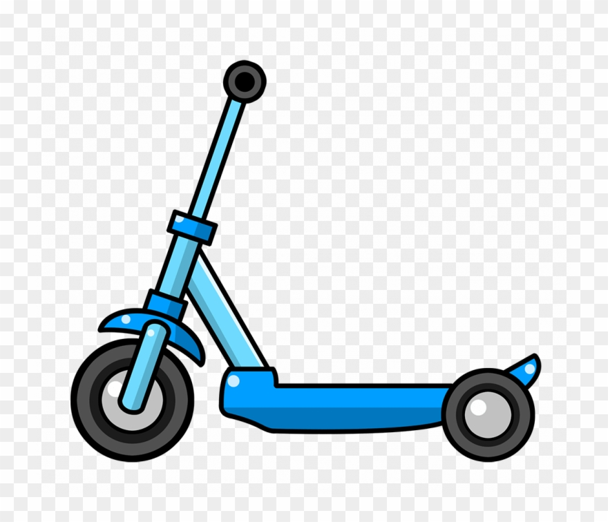 Razor Scooter Clipart 3 By Alison.