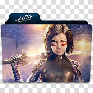 Alita Battle Angel transparent background PNG cliparts free.