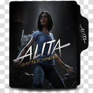 Battle Angel Alita PNG clipart images free download.