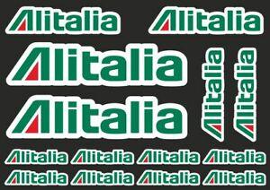 Details about ALITALIA Decal Set Quality Sticker Vinyl Graphic Logo  Adhesive Kit 14 Pcs.