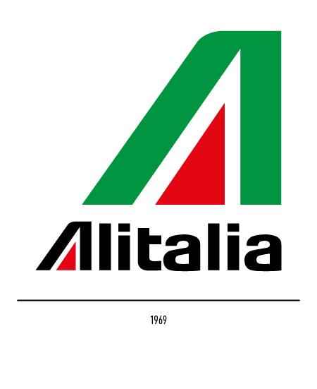The Alitalia logo.