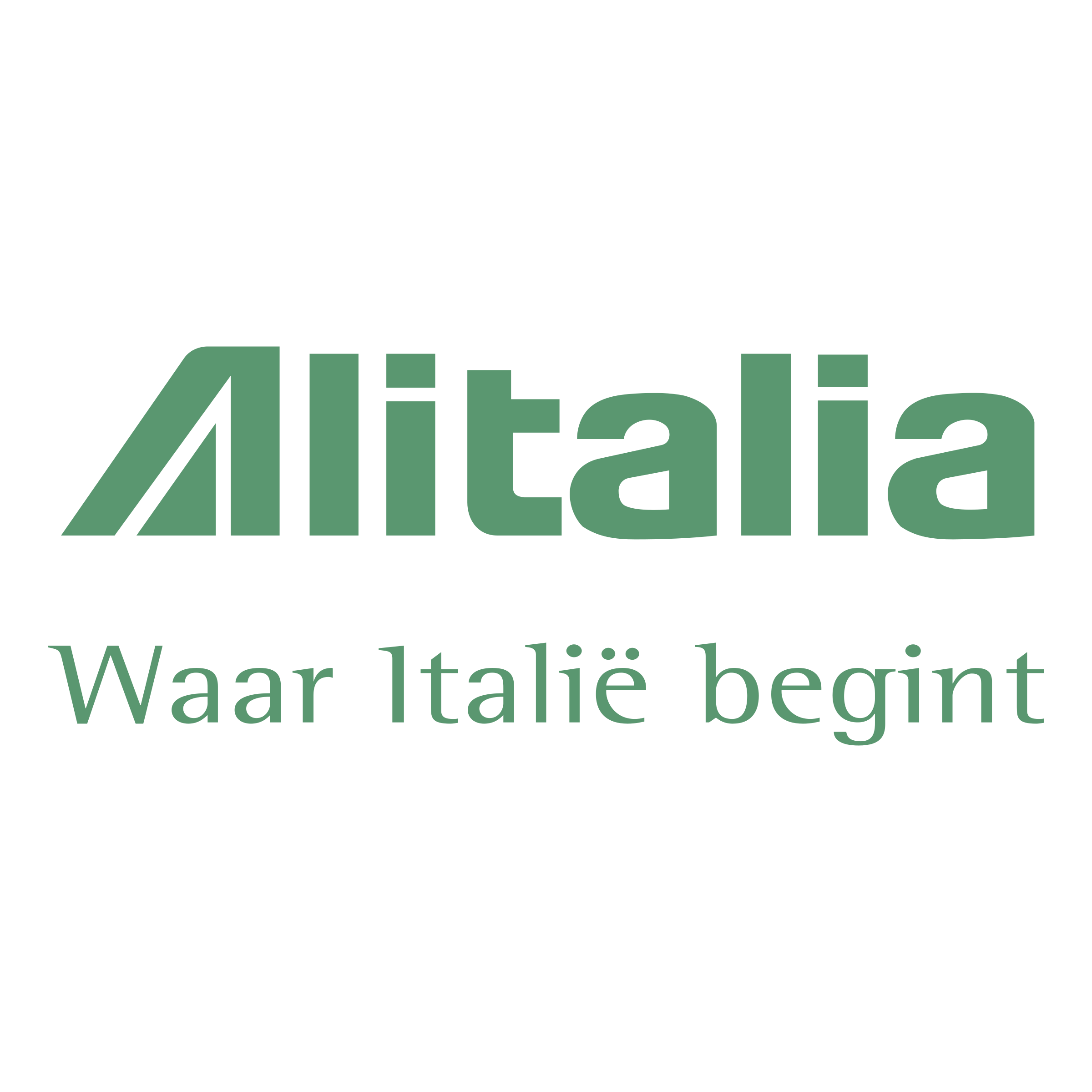 Alitalia 01 Logo PNG Transparent & SVG Vector.