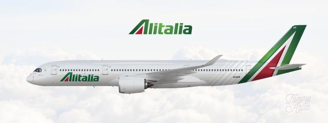 Alitalia / Airbus A350.