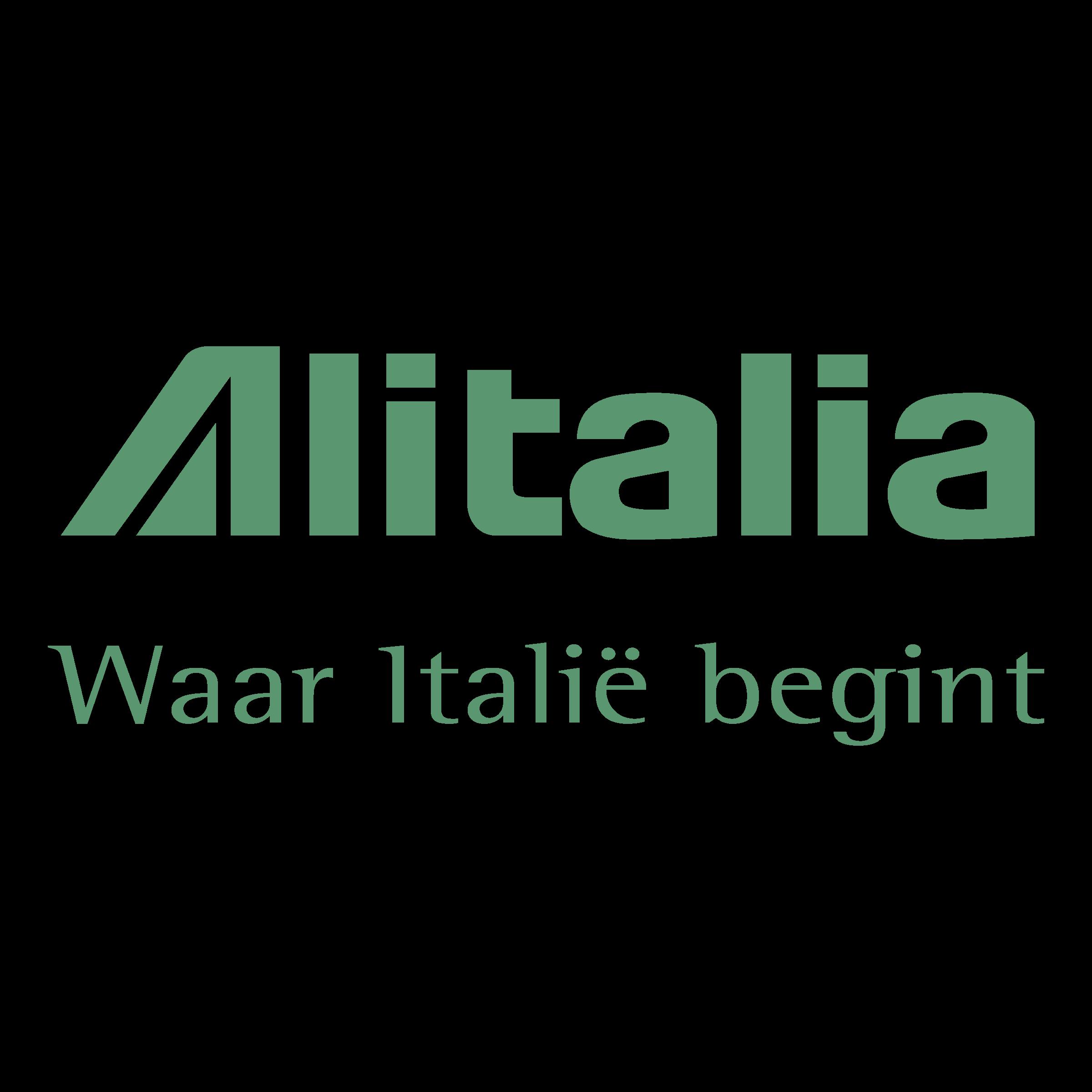 Alitalia Logo PNG Transparent & SVG Vector.