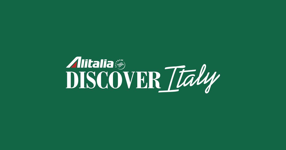 Alitalia Discover Italy.