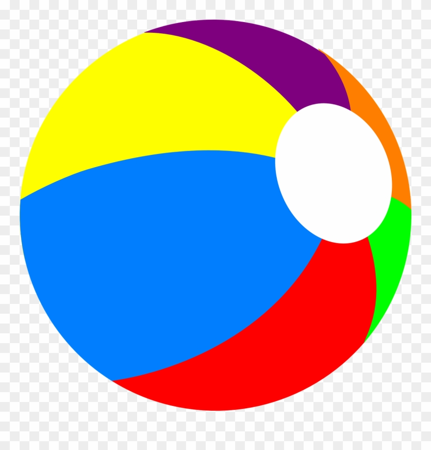 Beach ball no background clipart images gallery for free.
