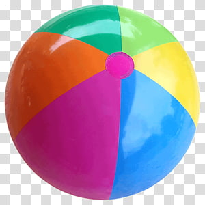White, yellow, and blue beach ball, Beach ball Inflatable.