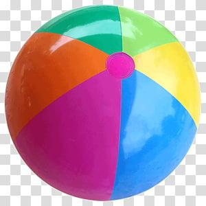 White, yellow, and blue beach ball, Beach ball Inflatable.