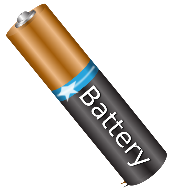 Free Clipart: Battery AAA.