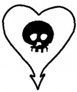 Alkaline Trio heart. Getting this tattoo.