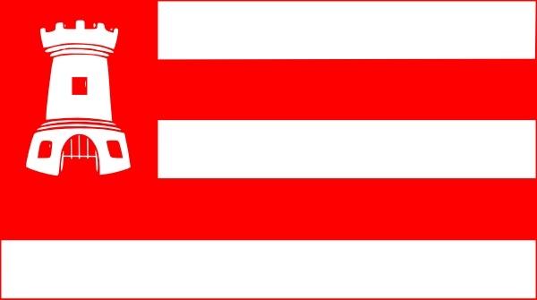 Alkmaar Flag clip art Free vector in Open office drawing svg.