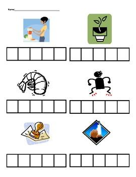 Elkonin Boxes Worksheets & Teaching Resources.