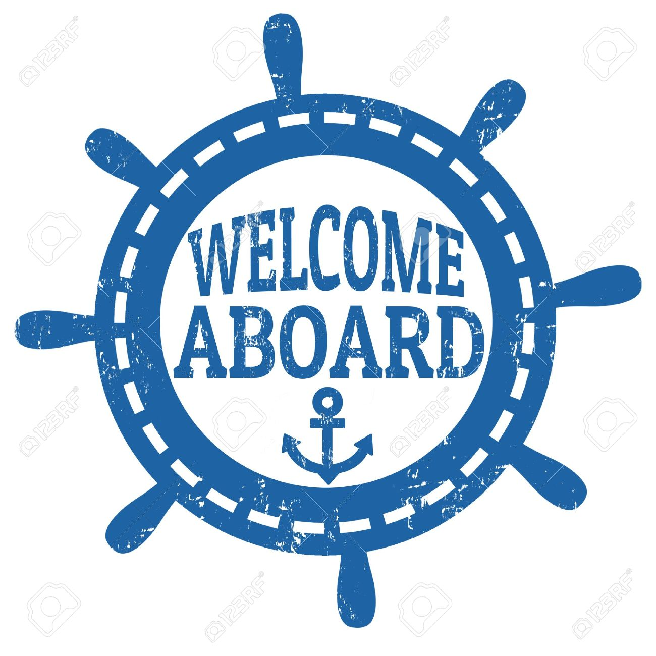 Welcome Aboard Clipart.