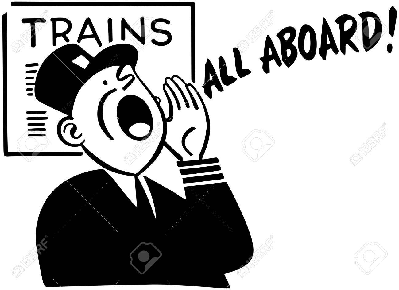 Train Conductor Cliparts Free Download Clip Art.