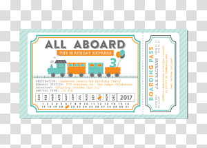 Train Ticket transparent background PNG cliparts free.