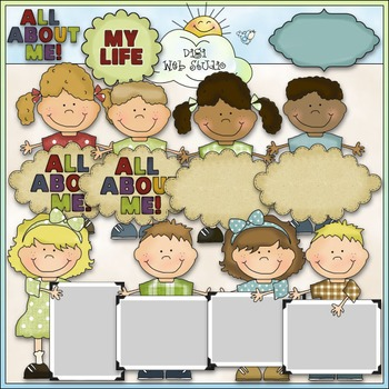 All About Me Clipart Worksheets & Teaching Resources.